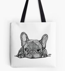 Französischer Bulldoggen-Welpe Tote Bag