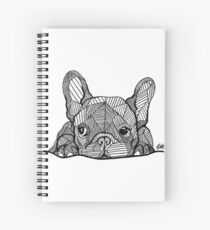French Bulldog Puppy Spiral Notebook