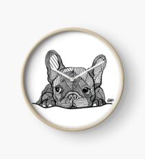 French Bulldog Puppy Clock