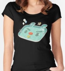 Poolday Women's Fitted Scoop T-Shirt