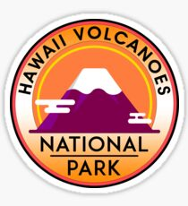 HAWAII VOLCANOES NATIONAL PARK VOLCANO Sticker
