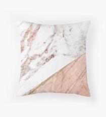 Rose gold marble blended Floor Pillow