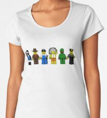 BRICK MEN VILLAGE PEOPLE- Camp Spoof Design  Women's Premium T-Shirt