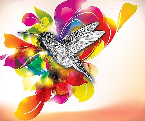 Flights of Color by LieslDesign