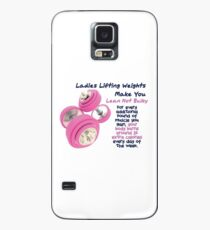 Ladies Lifting Weights - Infographic Case/Skin for Samsung Galaxy