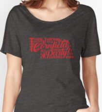 Turn this Nebraska Cornfield into a Party Women's Relaxed Fit T-Shirt