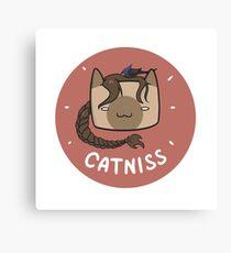 Catniss Canvas Print