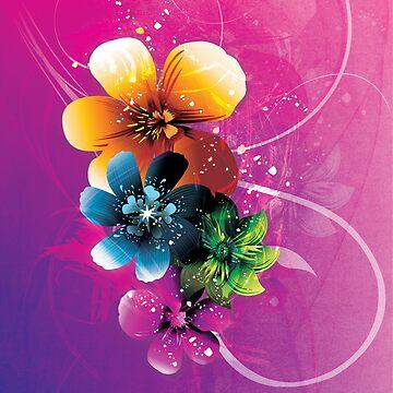 Floral Mystique by LieslDesign