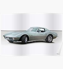 1971 Corvette C3 Stingray Coupe 2 Poster