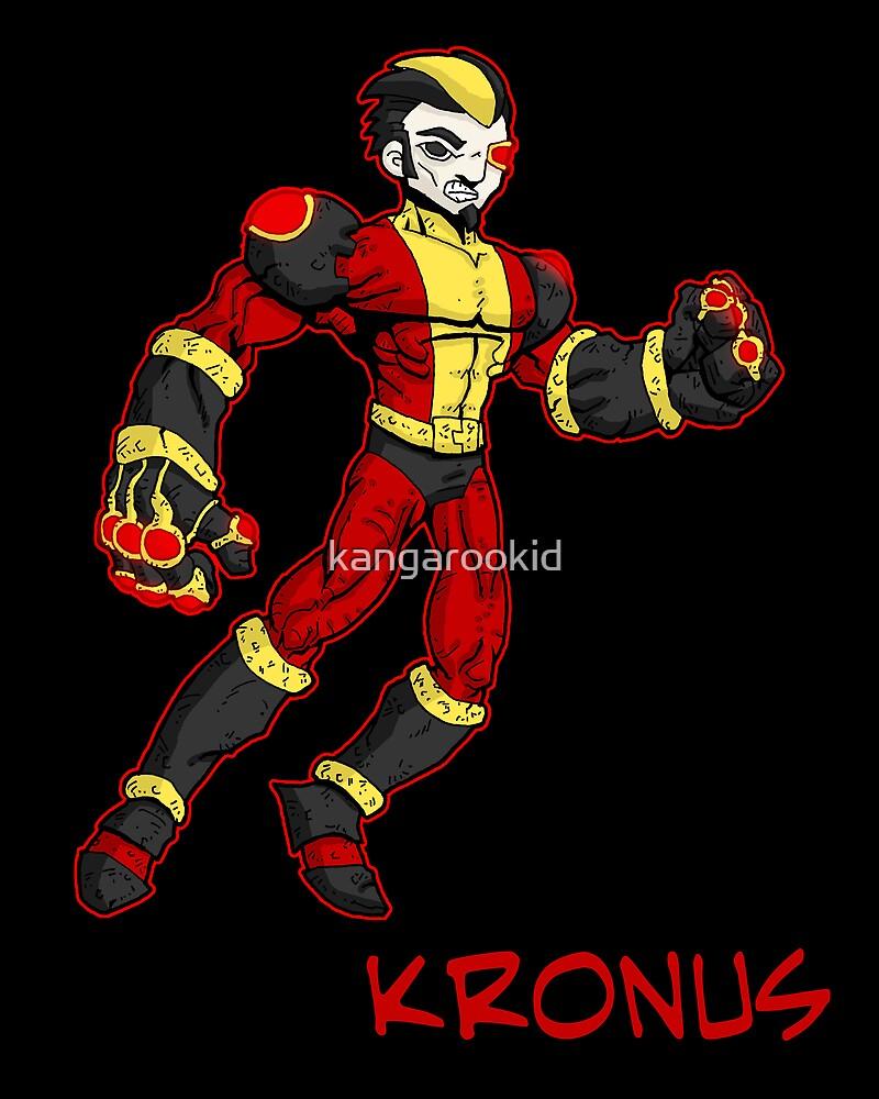 super villains: kronus... by kangarookid
