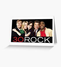30 Rock Greeting Card
