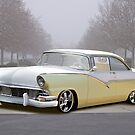 1956 Ford 'Mild Custom' Fairlane Hardtop by DaveKoontz