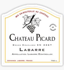 Chateau Picard! [Find a Delabeled Wine Bottle Edition] Sticker