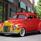 1940 Ford 'Chopped Top' Coupe 2 by DaveKoontz