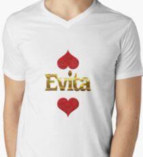 Evita Men's V-Neck T-Shirt