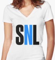 SNL Women's Fitted V-Neck T-Shirt