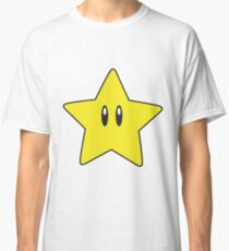 Yellow Mario Star - Limited Edition Classic T-Shirt