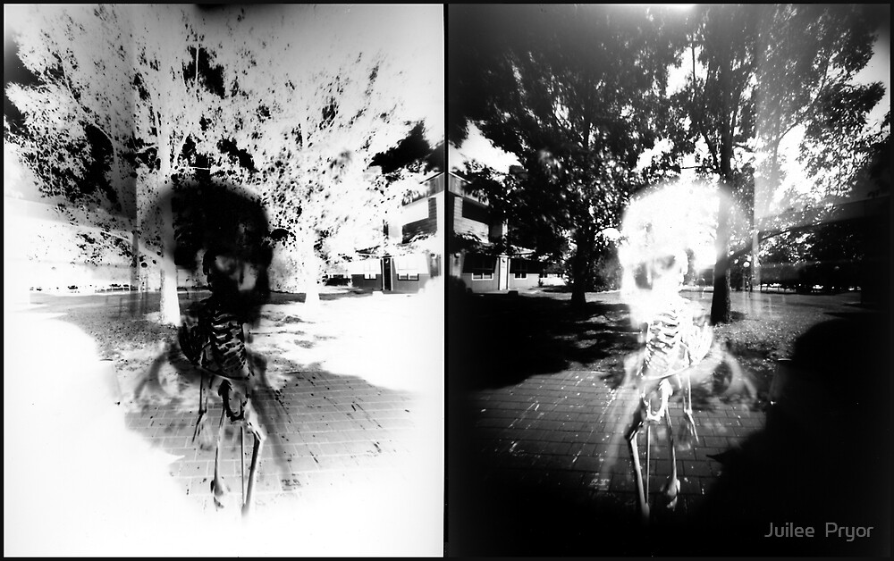 Pinhole Bones #1...doubled by Juilee  Pryor