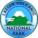 LASSEN VOLCANIC NATIONAL PARK CALIFORNIA MOUNTAINS VOLCANO 2 by MyHandmadeSigns