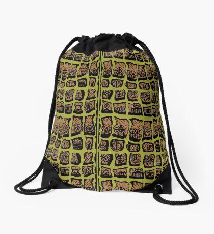 Avocado Drawstring Bag