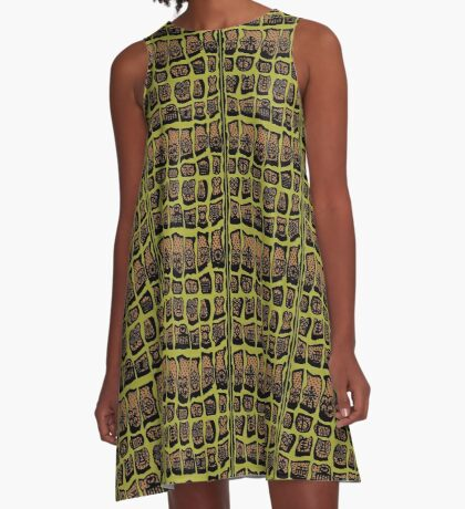 Avocado A-Line Dress