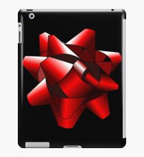Red Present Bow iPad Case/Skin