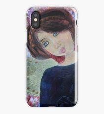 Mia angel iPhone Case/Skin