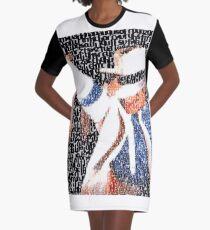 Smooth Criminal  Graphic T-Shirt Dress