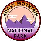 Rocky Mountain National Park Colorado Climbing Hiking Camping 2 by MyHandmadeSigns