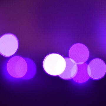 Purple bokeh effect by Winkham