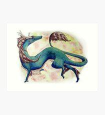 Playful Qilin Art Print