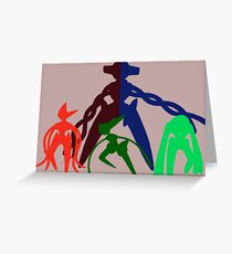 the DNA Family Greeting Card