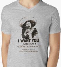 GRINGOS ALERT Men's V-Neck T-Shirt