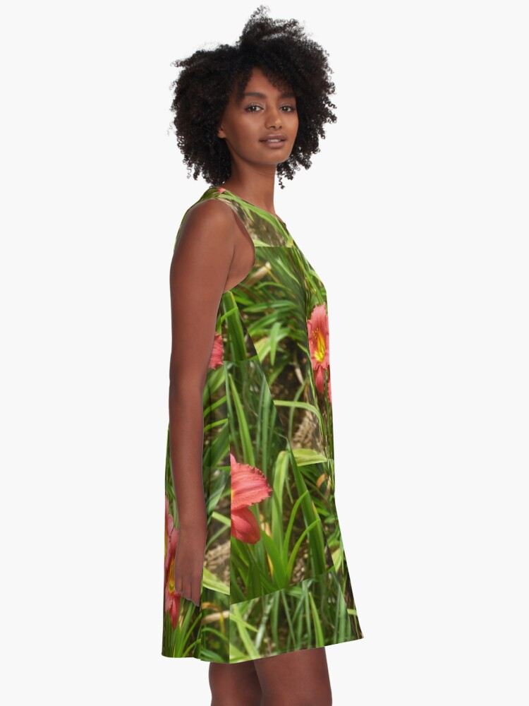 Alternate view of Syncopation  A-Line Dress