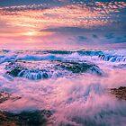 Washing machine waves and rocks by Ralph Goldsmith