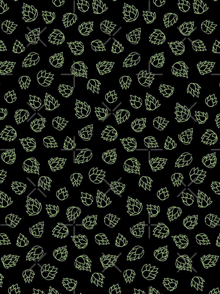 Hop Cone Pattern by jasoncastillo