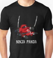 Ninja Panda Bear Funny Karate Samurai Unisex T-Shirt