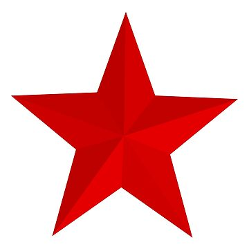 Red Star, STAR, RED, Barn Star, Stardom, Power to the people! Red Dwarf, Stellar, Cosmic by TOMSREDBUBBLE