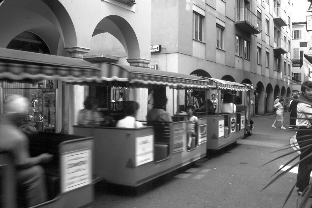 Touring Lugano by Priscilla Turner