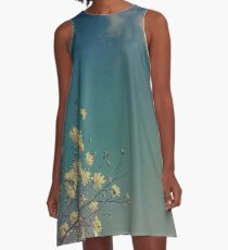 Head in the Clouds A-Line Dress