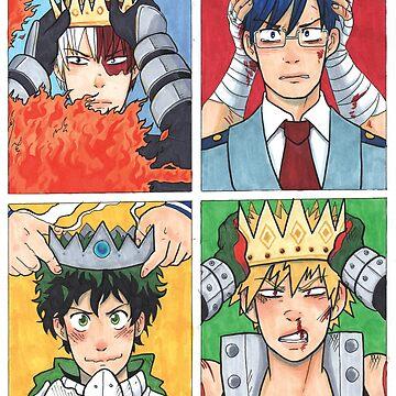4 Kings - BNHA by dr-kara