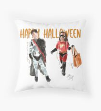 Halloween Robinson Throw Pillow