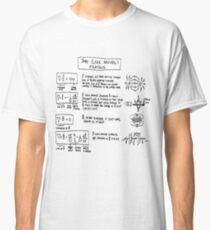 Maxwell's Equations [light] Classic T-Shirt
