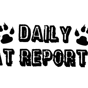 Daily Cat Reporter by clockwisedream