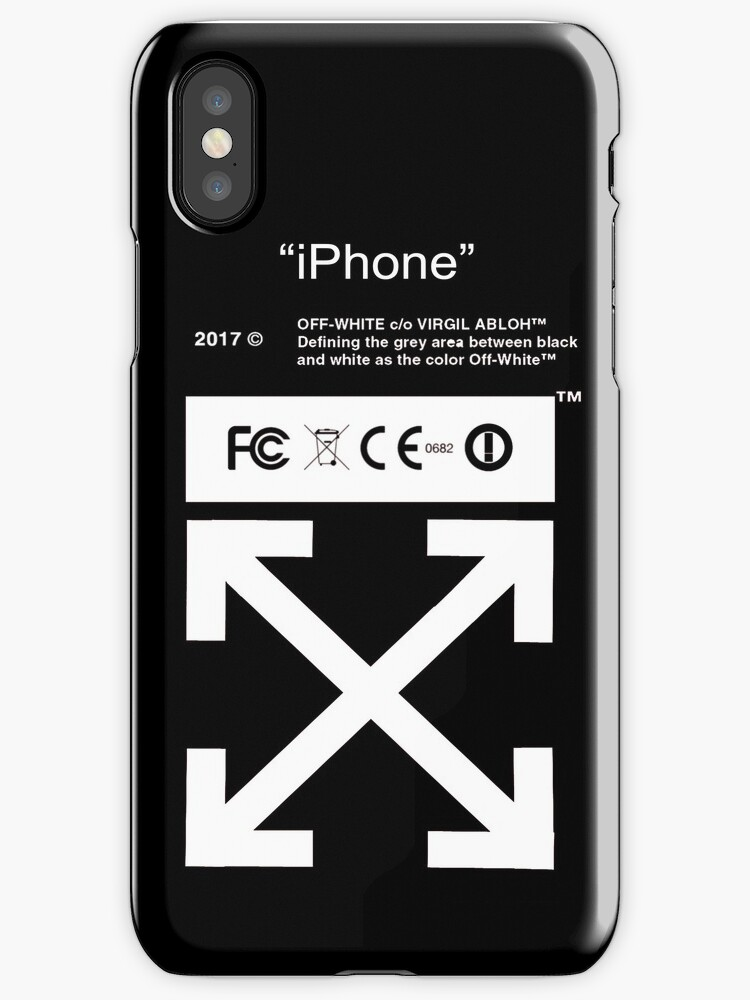 iPhone Off White by bondantain