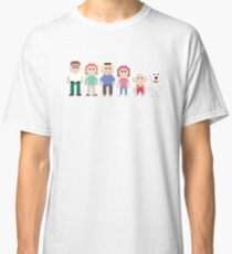 Family Guy 8-Bit Characters - T-shirts, Phone Cases, Mugs & More Classic T-Shirt