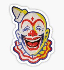 Circus Clown Sticker