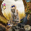 « Alice in Wonderland - in the rabbit hole » par kristellinwond