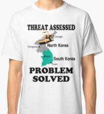 North Korean Problem Solved Classic T-Shirt