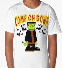 TV Game Show - TPIR (The Price Is...) Come On Down Halloween Frankendrew Long T-Shirt